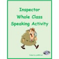 Chores in English Inspector Speaking Activity