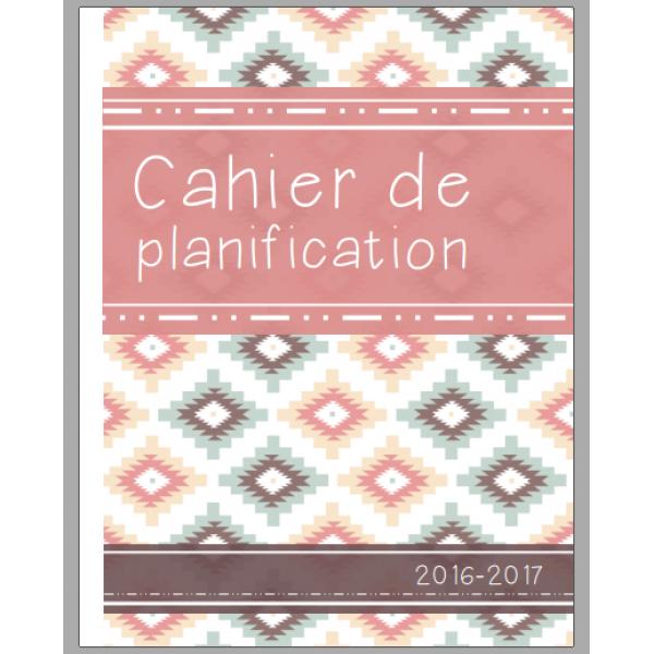 Cahier de planification 2016-2017