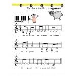 Cahier à colorier la musique