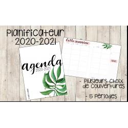 Planificateur/agenda pour enseignant 2020-2021
