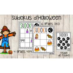 Sudokus d'Halloween - Atelier