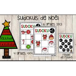 Sudokus de Noël - Atelier