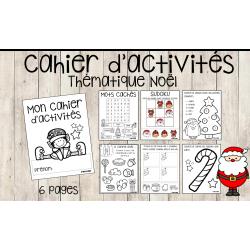 Cahier d'activités - Thématique Noël