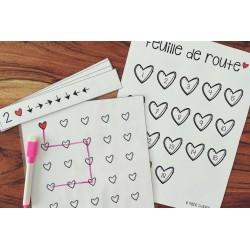 Atelier de la Saint-Valentin - Les déplacements
