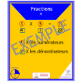 Cartes - Fractions
