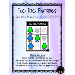 Tic Tac Phrases