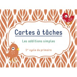 Cartes à tâches : Additions simples