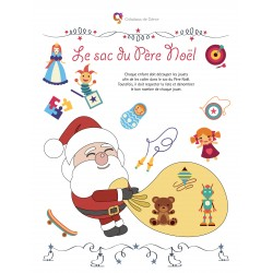 Activités de dénombrement de Noël