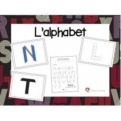 Alphabet en blocs mosaïques