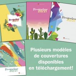 Couvertures de planificateur 2020-2021