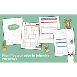 Planificateur pour le primaire 2021/2022