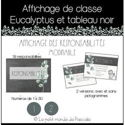 Affichage de classe eucalyptus - Responsabilités
