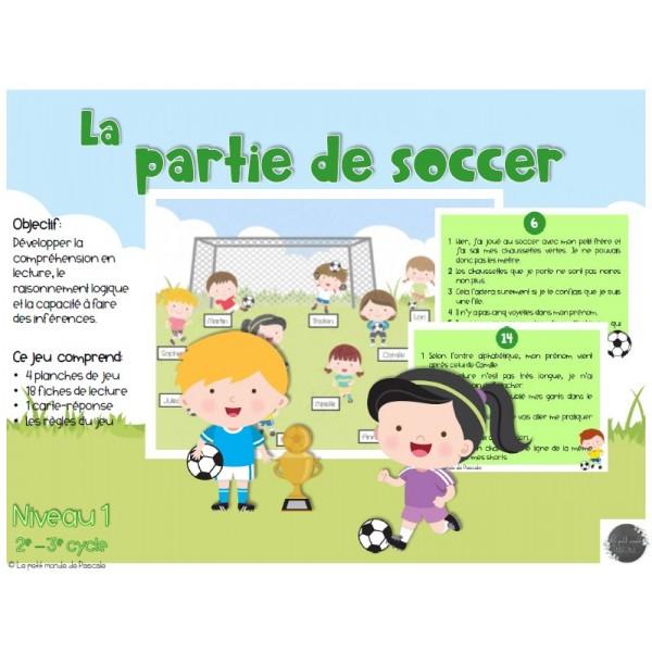 Les inférences - La partie de soccer