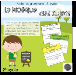 Le kiosque des sujets - 2e cycle