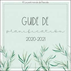 Planificateur 2020-2021 (6 périodes)