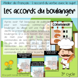 Les accords du boulanger - 3e cycle