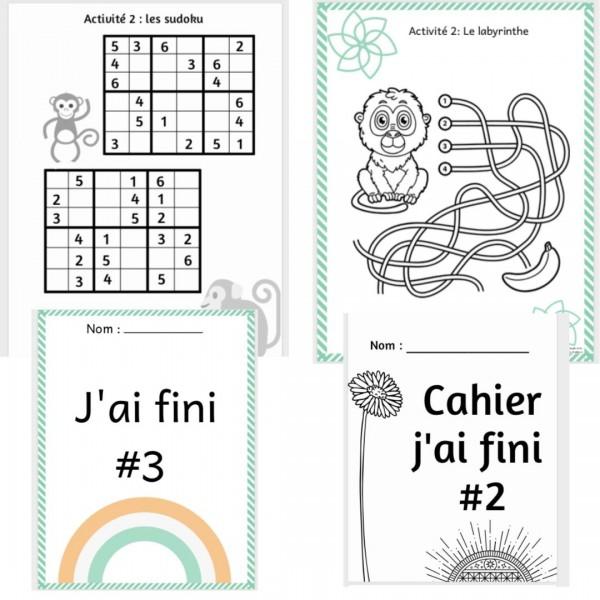 COMBO J'AI FINI #2 et #3