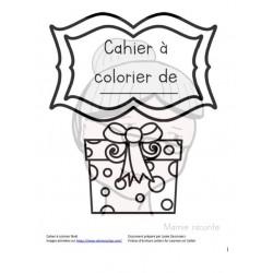 Cahier à colorier Noël
