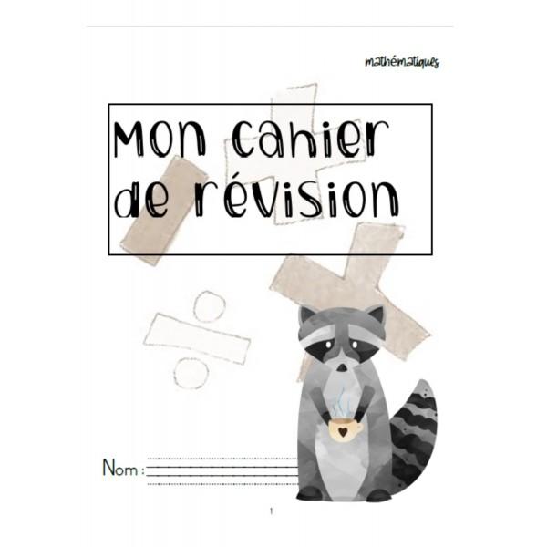 Cahier de révision mathématique - 2e année