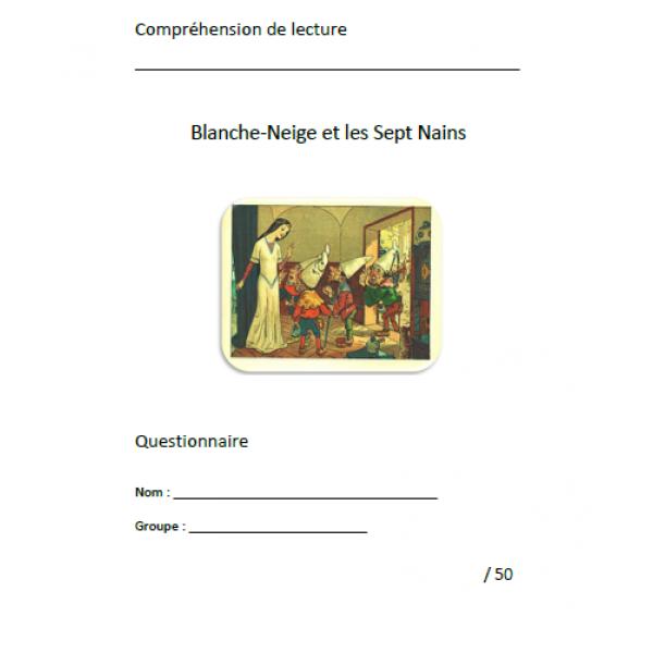 Compréhension de lecture / Blanche-Neige