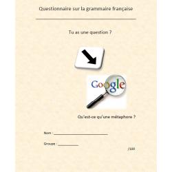 Questionnaire sur la grammaire française