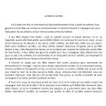 Compréhension de lecture / La Belle et la Bête