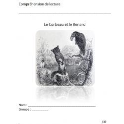 Le Corbeau et le Renard / Compréhension de lecture