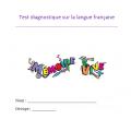 Jeu questionnaire sur la langue française