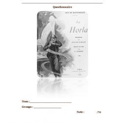 Compréhension de lecture / Le Horla de Maupassant