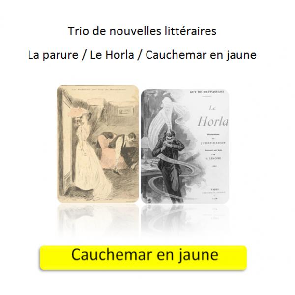 Trio de nouvelles littéraires