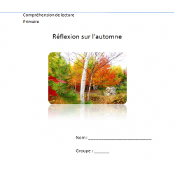 Réflexion sur l'automne