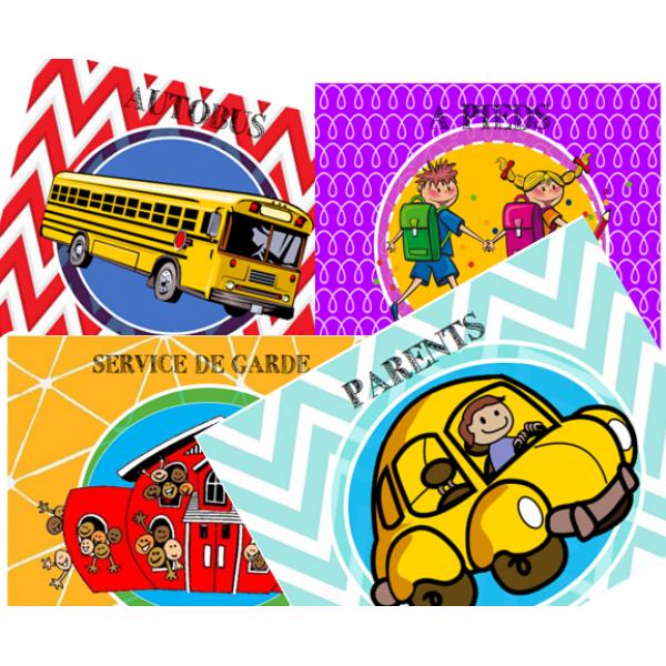 Affiches transport élèves