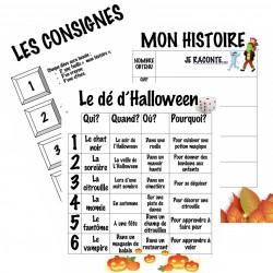 Le dé d'Halloween