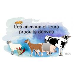 Les animaux et leurs produits dérivés