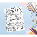 Cahier d'activités thématique princesse
