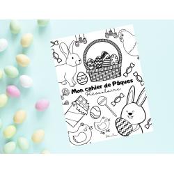 Cahier d'activités Pâques Préscolaire