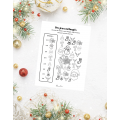 Cahier d'activités de Noël pour premier cycle