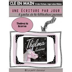 Thelma la licorne - Une écriture par jour...