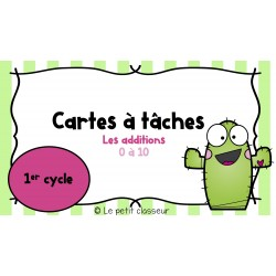 Les additions (1er cycle)
