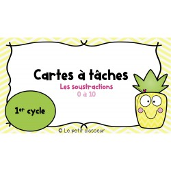 Les soustractions (1er cycle)