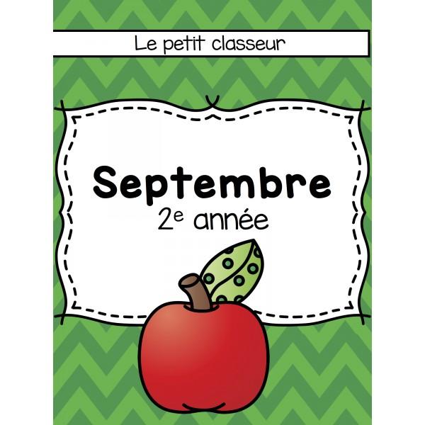 Cahier enrichissement (2e) - Septembre