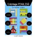 Coloriage pixelisé - La rentrée scolaire