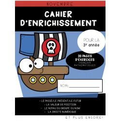 Cahier d'enrichissement (3e année) - Novembre