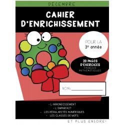 Cahier d'enrichissement (3e année) - Décembre
