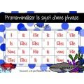 Cartes à tâches :Pronominaliser lesujet