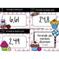 Cartes à tâches :Arrondir des nombres décimaux