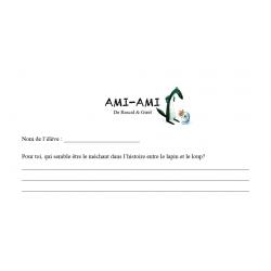 Réagir et interpréter - AMI-AMI de Rascal et Girel