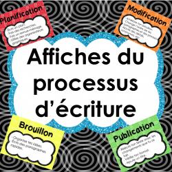 Processus d'écriture - Affiches