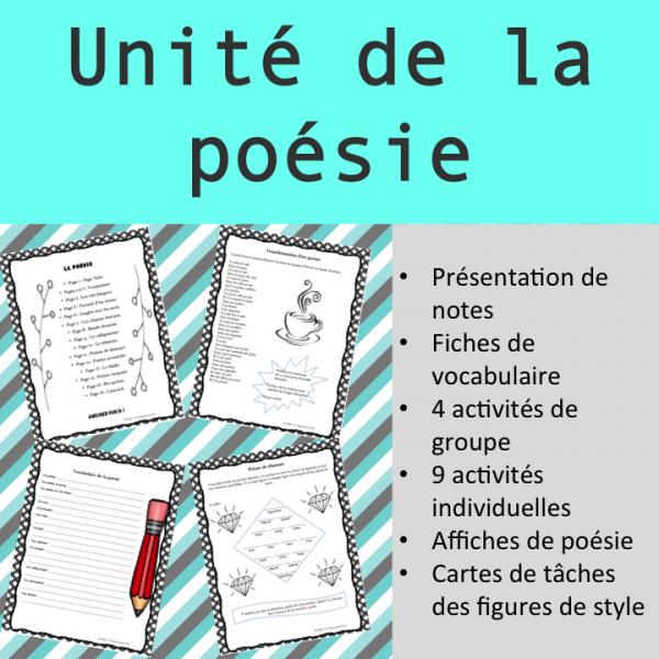 Paquet: La poésie