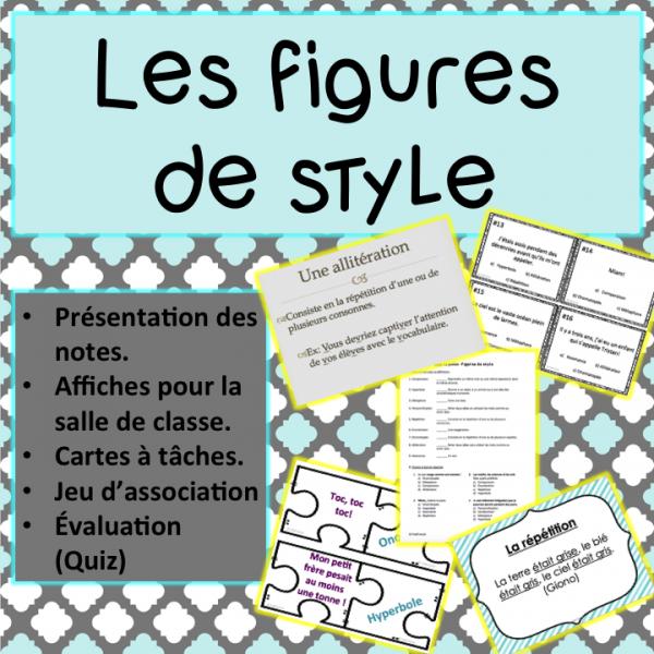 Paquet - Figures de style